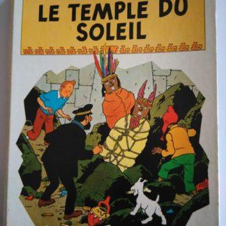 Le Temple du soleil. Pop-hop, un livre animé Tintin