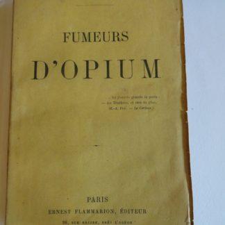 Fumeurs d'Opium, Jules Boissière