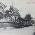 CPA - CHOLON, cochinchine, Le Tramway