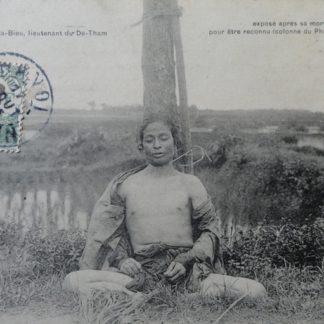 CPA - colonne du Phuc-Yen, lieutenant du Dé-Tham, tonkin