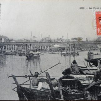 CPA - Le Pont de SADEK, Planté éditeur, Saigon
