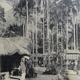 CPA - Habitation d'un notable indigène, ILES POULO - CONDORE, Petit Cambodge, village des Relégués