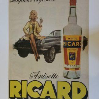 affiche Ricard vintage
