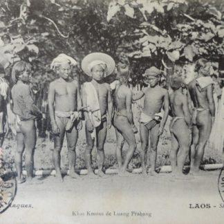CPA - Khas Kmous de Luang Prabang, Laos