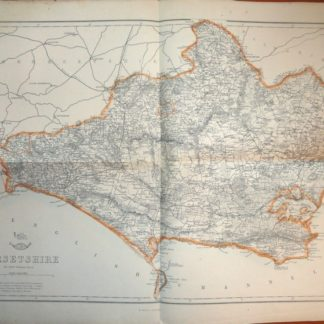 DORSETSHIRE county map