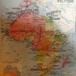 N°11 Asie politique au recto et N°13 Afrique politique au verso
