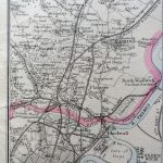 Eastern Counties Railway (Sheet 1. London to Ipswich Yarmouth & Norwich)