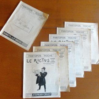 Le rictus - journal humoristique médical - pantopon roche