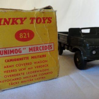 Dinky Toys Mercedes Unimog Militaire réf. 821
