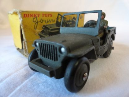 DINKY TOYS - JEEP MILITAIRE HOTCHKISS WILLYS - 80B