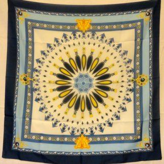 Joli foulard vintage MOVITEX