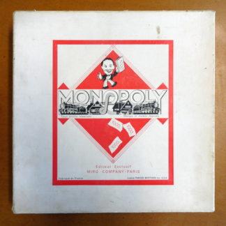 Vieux jeux de société MONPOLY 1936