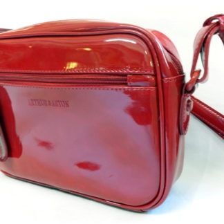 Sac à main moderne rouge ARTHUR & ASTON