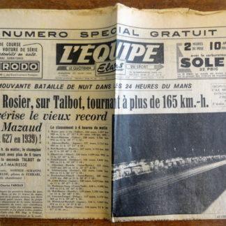 L'ÉQUIPE, le quotidien du sport - Du Dimanche 25 juin 1950 / 5e année