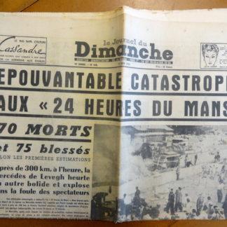 Le journal du Dimanche - 10 e année N° 448. Du 12 juin 1955