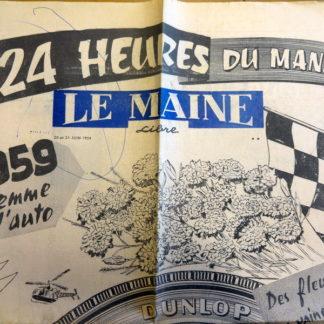 Journal – Le Maine Libre du 20 et 21/06/1959