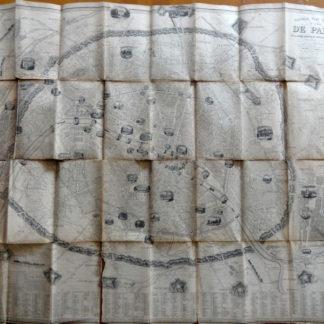 Nouveau plan illustré de la ville de Paris, 1845