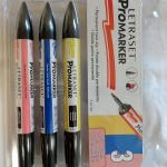 Letraset ProMarker double pointe Permanente