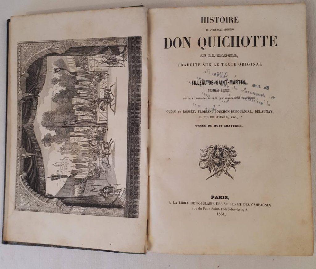 Histoire de l'ingénieux seigneur DON QUICHOTTE de la Manche