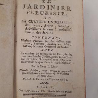 LE JARDINIER FLEURISTE, OU LA CULTURE UNIVERSELLE