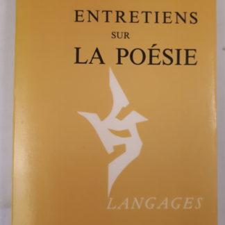 Yves Bonnefoy - Entretien sur la poésie