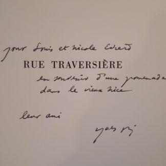 Yves Bonnefoy, rue Traversière