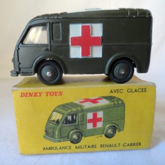 DINKY TOYS - ambulance militaire Renault-Carrier Réf 80F