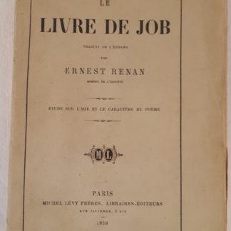 Ernest RENAN - Le livre de JOB