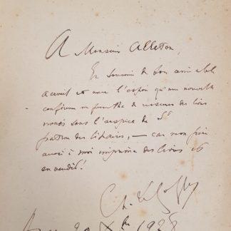 Les poètes de la mer du moyen-âge à nos jours - Anthologie, Charles Le Goffic