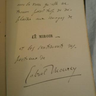 Gabriel Mourey, Le Miroir Poèmes