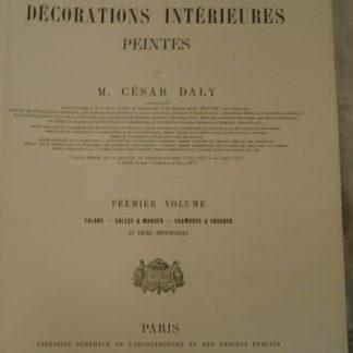 César Daly, l'architecture privée au XIX siècle